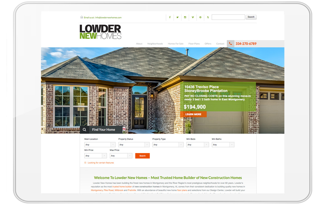 Lowder New Homes